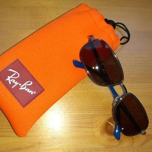 Lightweight Ray-Ban Jr Sunglasses with fabric case